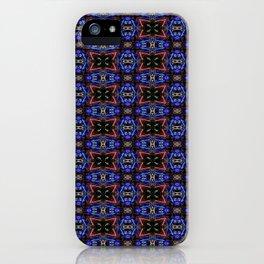 Velvety Grandeur Pattern 1 iPhone Case