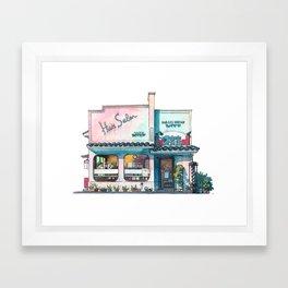 Tokyo storefront #03 Framed Art Print