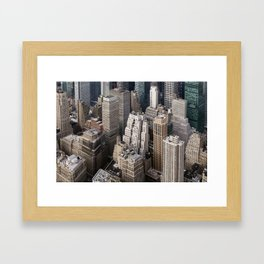 Up close and personal - NYC Framed Art Print