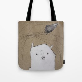 Balamber the bear Tote Bag