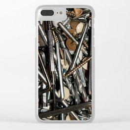 SCREW IT! Clear iPhone Case
