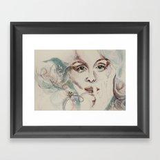 poseidon's lover Framed Art Print