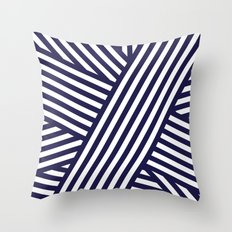 Nautical Bandaids Throw Pillow
