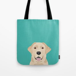 Labrador Retriever golden retriever yellow lab dog breed gifts Tote Bag
