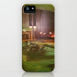 ghost bikes iPhone Case