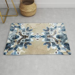 BLUE LACE DECOR Rug