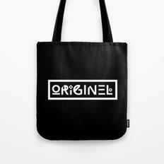 Originel noir Tote Bag