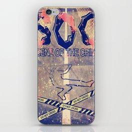 SOC - Scene of the crime iPhone Skin