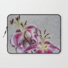 Pink Lillies Laptop Sleeve