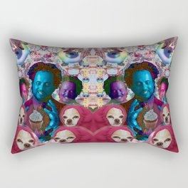 giorgio tsoukalos and his worm doggos Rectangular Pillow