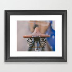 Brooks Bike Framed Art Print