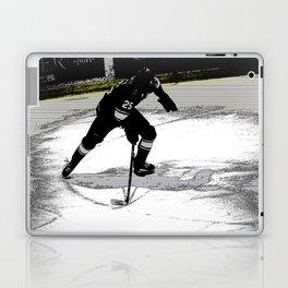 On the Move - Hockey Player Laptop & iPad Skin