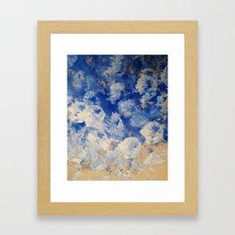 Cobalt Blue Framed Art Print