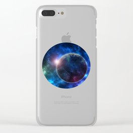 A Galaxy Teeming with Life Clear iPhone Case