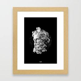 Sculpture Head II Framed Art Print