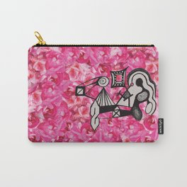 Roses & Childhood Drawings Carry-All Pouch
