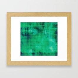 Green ~ Abstract Framed Art Print