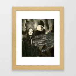 You Know What You Did Framed Art Print