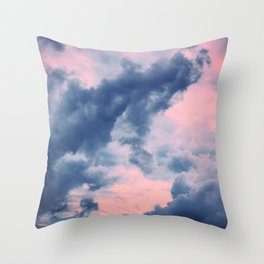 Candy Clouds of Lullaby Throw Pillow