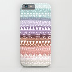 Triangle Gradient Earthy Mix iPhone 6s Slim Case