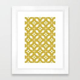Starburst - Gold Framed Art Print