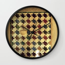 Mexuar at the Alhambra. Vintage Wall Clock