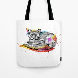 Watercolor Fox  Tote Bag
