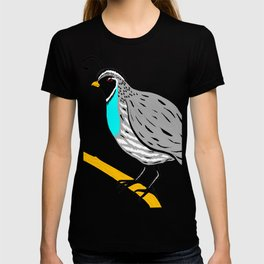 Quail On A Branch T-shirt