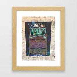 Festival Poster Framed Art Print