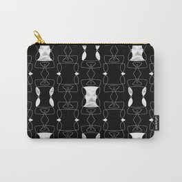 Gothic Textured Pattern Carry-All Pouch