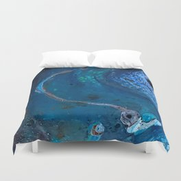 Deep Blue Sea Duvet Cover