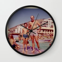 Sea Point Dad Wall Clock