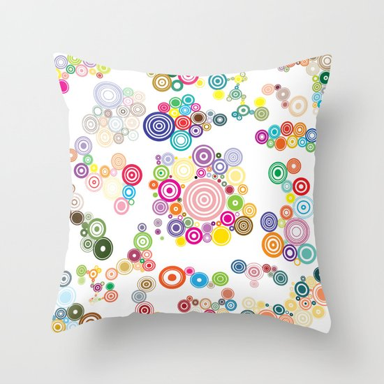 Springs Throw Pillow