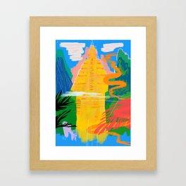 Bodh Gaya Framed Art Print