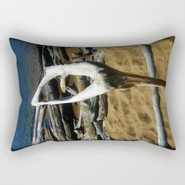Drift Wood Dancer Rectangular Pillow