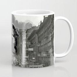 Old Time Godzilla in New York Coffee Mug