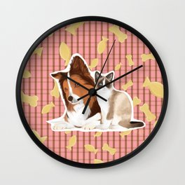 Can we eat now? Wall Clock