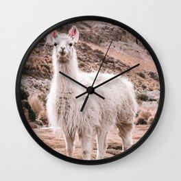 Llama Wall Art Wall Clock