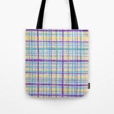 Plaid Pattern Tote Bag