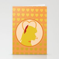 sailor venus Stationery Cards featuring Sailor Venus by Valerie C. Salmon