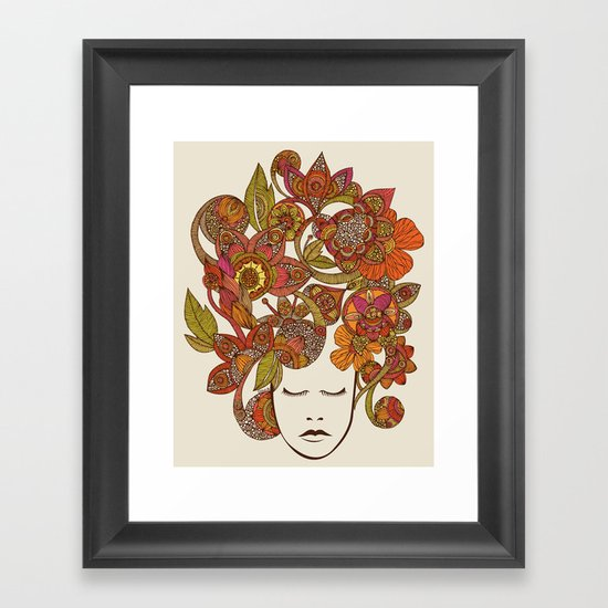It's all in your head Framed Art Print