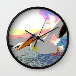 Pelikan Wall Clock