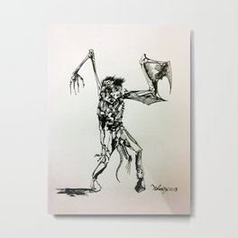 Creature concept Metal Print