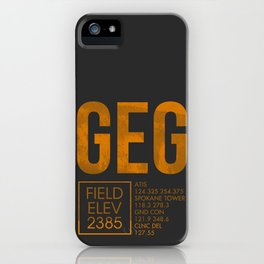GEG II iPhone Case