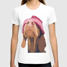 Hipster Vizsla T-shirt