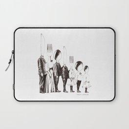 Family Portrait Line-up Laptop Sleeve
