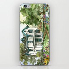 Garden House iPhone & iPod Skin