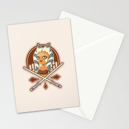 Ahsoka the padawan Stationery Cards