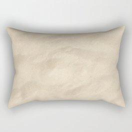 Light Brown Sand texture Rectangular Pillow