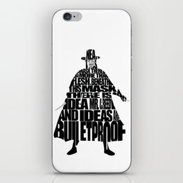 V 4 Vendetta iPhone Skin